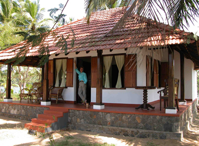 Comfortable Coconut Island Island Resort In The Kerala